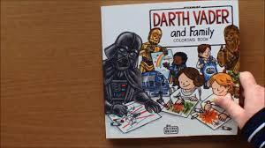 star wars darth vader family colouring book jeffrey brown