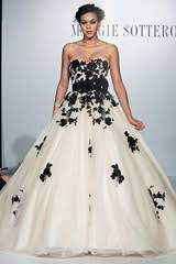 white and black wedding dresses chic black wedding dress for the edgy martha stewart weddings