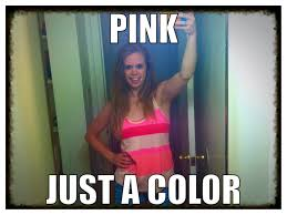 Black Girl Meme Hand - breaking the pink stereotype negley s nook