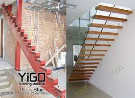 foldable stairs exquisite 7 glass staircase buy glass staircase