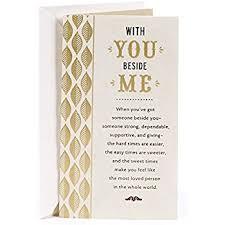 amazon com hallmark birthday greeting card for husband gold and