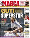 Silly Elephants, Guti in some MARCA covers ♥ (no specific order)