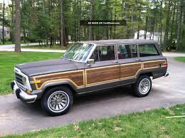 jeep wagoneer lifted 1987 jeep grand wagoneer information and photos momentcar