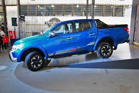 mitsubishi adventure 2017 launched mitsubishi triton with new mivec diesel engine