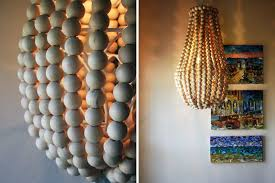 How To Make A Diy Chandelier How To Make A Wooden Chandelier Brit Co