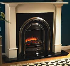 elegant electric fireplace home decorating interior design