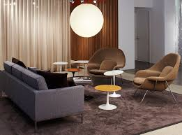 saarinen side tables and womb chairs tags keywords neocon 2014