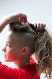 Half Shaved Hairstyles Girls by 113 Best Shaved Hair Style Images On Pinterest Hairstyles Hair