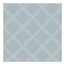 blue quatrefoil wallpaper slate blue quatrefoil peel and stick wallpaper walmart com