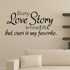 popular bedroom wall quotes buy cheap bedroom wall quotes lots bedroom wall stickers every love story is beautiful vinyl wall quotes decals bedroom love decor