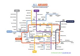 Tyne Metro Map by Digiteach Blog