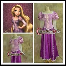 Custom Halloween Costume Custom Beautiful Rapunzel Princess Dress Costume Cosplay