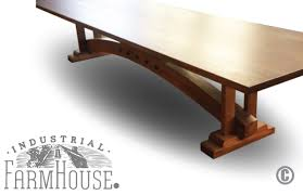 coffee table craftsman conference table the industrial farmhouse