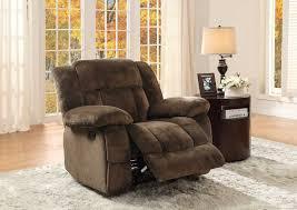Glider Recliner Chair Homelegance Laurelton Glider Reclining Chair Chocolate