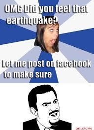Omg Girl Meme - california earthquakes