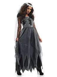 Dead Bride Halloween Costume Ladies Corpse Bride Costume Halloween Fancy Dress Costume Gothic