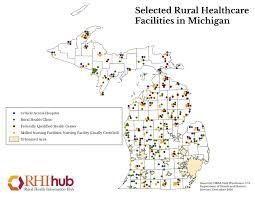 up michigan map rural health for michigan introduction rural health information hub