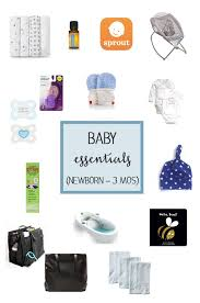 baby essentials baby essentials newborn to 3 months in the