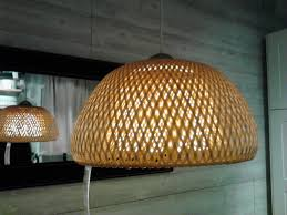 inspirational wicker lamp shade ikea 39 for your silver ceiling