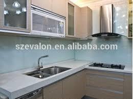 cream colored quartz countertops molded sink kitchen
