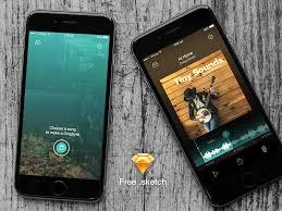 social ringtone maker app sketch freebie u2013 uxfree