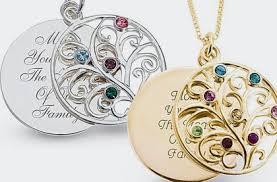 children s birthstone necklace childrens birthstone necklace for necklace