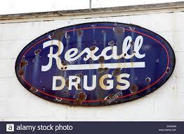Rexall Floor Plan Drug Store Signage Stock Photos U0026 Drug Store Signage Stock Images