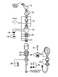 Parts Of A Faucet Aerator Valley Single Handle Bathroom Faucet Repair Parts