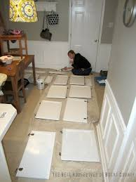 How To Paint My Kitchen Cabinets White How To Paint Cabinets White East Coast Creative Blog