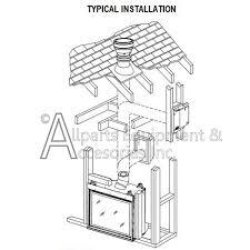 mpldv 30nm lennox direct vent merit plus fireplace