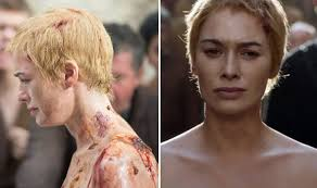 game of thrones star lena headey shows off huge back tattoo in