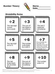 nice visual for prime and composite numbers math 4th grade this