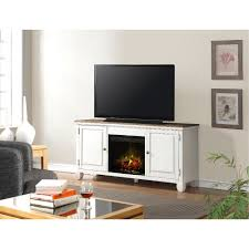 68 inch white tv stand with fireplace rc willey furniture store