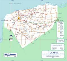 Mexico State Map by Yucatan State Map Mexico