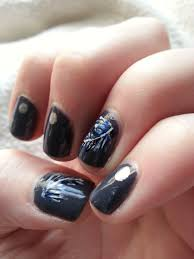 nail art challenge september 19 feathers nood mood