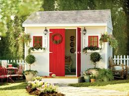 the home depot love this idea of turning a shed into a craft area