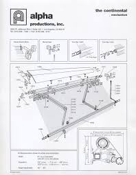 Retractable Awning Parts Continental Patio Awning Alpha Productions