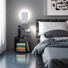 bedrooms flat metal wall sconce from alma bedroom nightstand