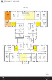 Dormitory Floor Plans by River Hall Housing