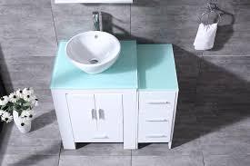 Bathroom Sink Base Cabinet Bathroom Awesome White Bathroom Vessel Sink Base Cabinet With