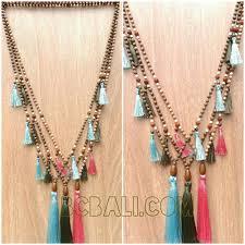 handmade necklace designs images Bali tassels handmade necklaces charm multi designs bali tassels jpg
