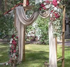 wedding arch no flowers best 25 outdoor wedding canopy ideas on diy wedding