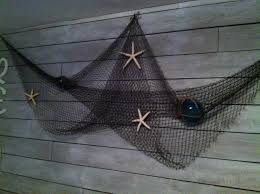 Home And Cabin Decor by Fish Net Wall Decor My Home Remodel Pinterest Wall Decor
