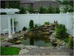 backyards chic small garden pond design ideas waterfall designs