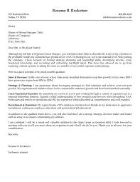 Qa Sample Resume Application Letter For Unit Manager