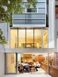 Townhouse Design Architecture Deluxe Decoration In Urban House Nyc Given Nice