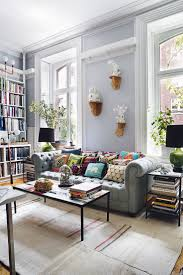 Living Room Furniture New York City Home Interior Design The Bohemian Of A New York City Apartment
