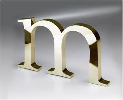 metal letters nyc aluminum wall letters sign signs ny
