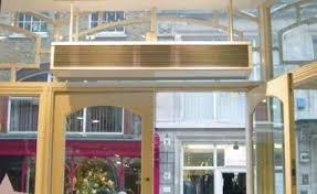 Overhead Door Heaters Dimplex Cab Air Curtains Air Heaters Door Heaters Surface
