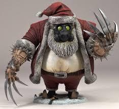 Bad Santa Halloween Costume Santa Claus Mcfarlane U0027s Twisted Christmas Toy Action Figures